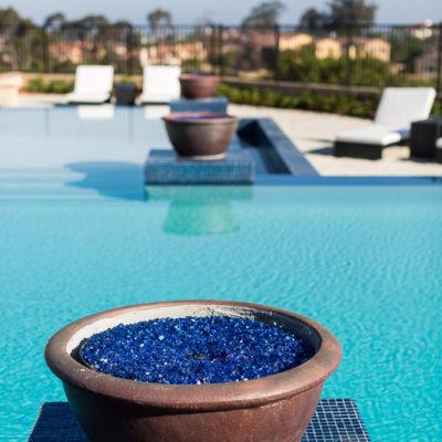 gas firepit urn-swimming pool