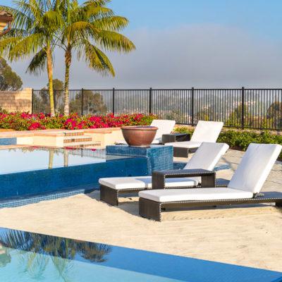 waterfall edge pool-sand-lounge charis